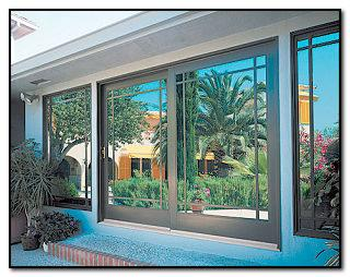 sliding glass doors or patio doors are quite common in many of our