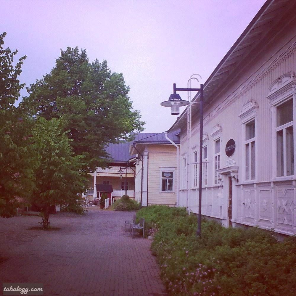 City center (backyard near Kesätalo restaurant)
