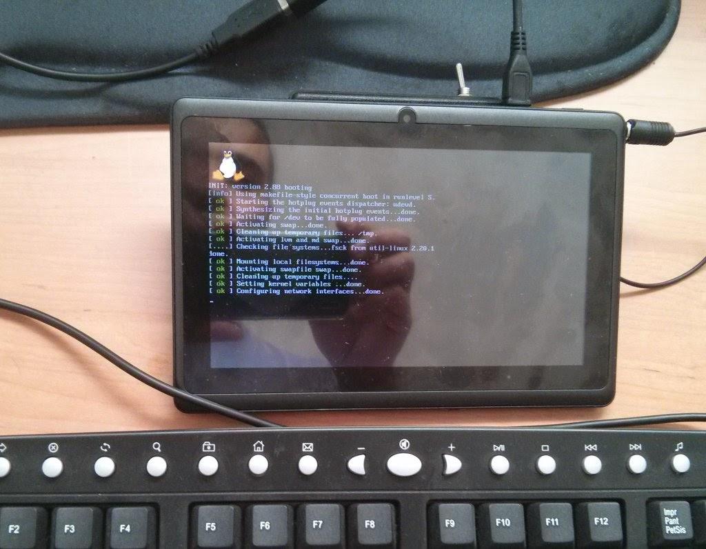 Tablet com Linux