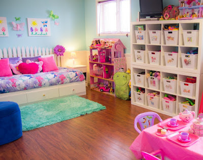 Organized Toy Room - Featured in Operation Organization by Heidi article, Why Can't I STAY Organized?