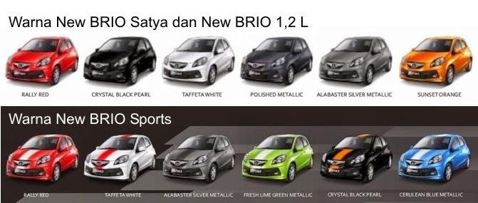 Pilihan Warna Honda Harga Mobil Honda
