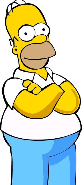 Herickdsouzadg homer simpson vetor - Homer simpson tout nu ...