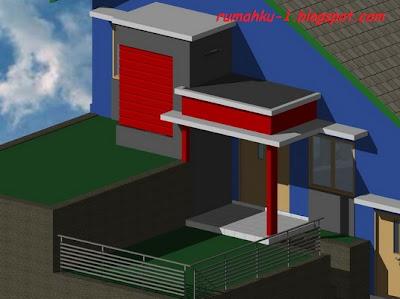 rumahku 1 gambar model teras rumah minimalis