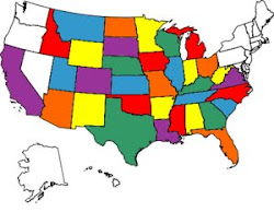 Buster's States Visited