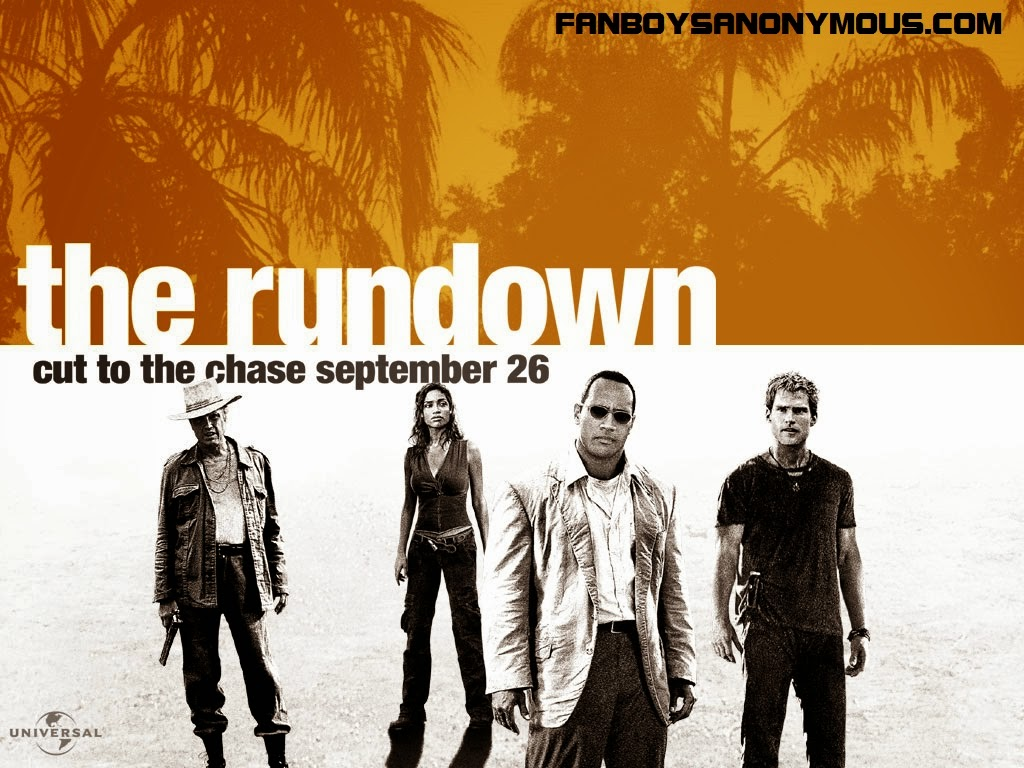 Peter Berg directed WWE film The Rundown starring Dwayne the Rock Johnson