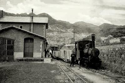 estacion pobla lillet fabrica clot del moro asland abandono tren cement cemento
