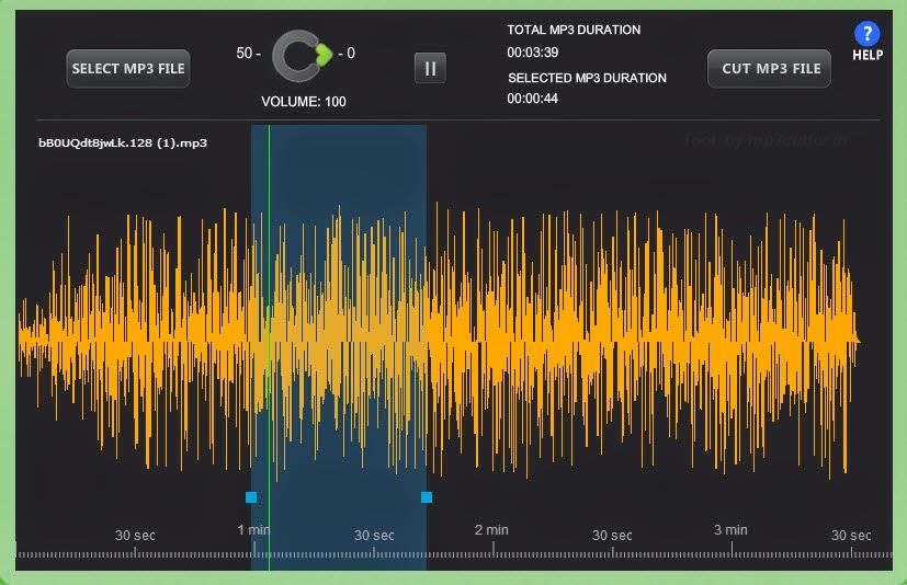 كيف تقوم بتقطيع الملفات الصوتيه وعمل النغمات بدون برامج فى 3 خطوات