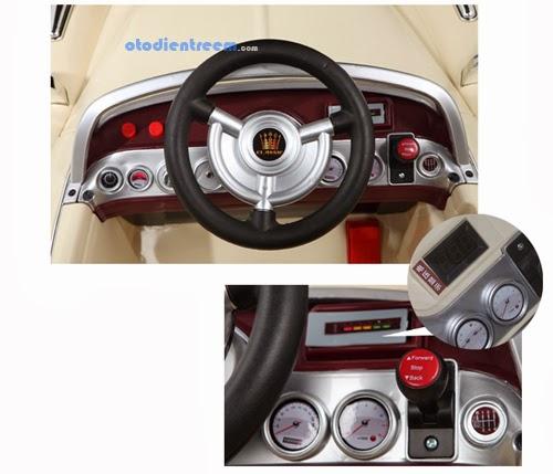 Chi tiết xe ô tô điện trẻ em JE128 hình11