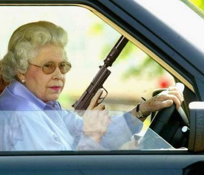 grandma with gun 