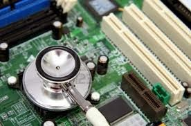 cara repair motherboard PC