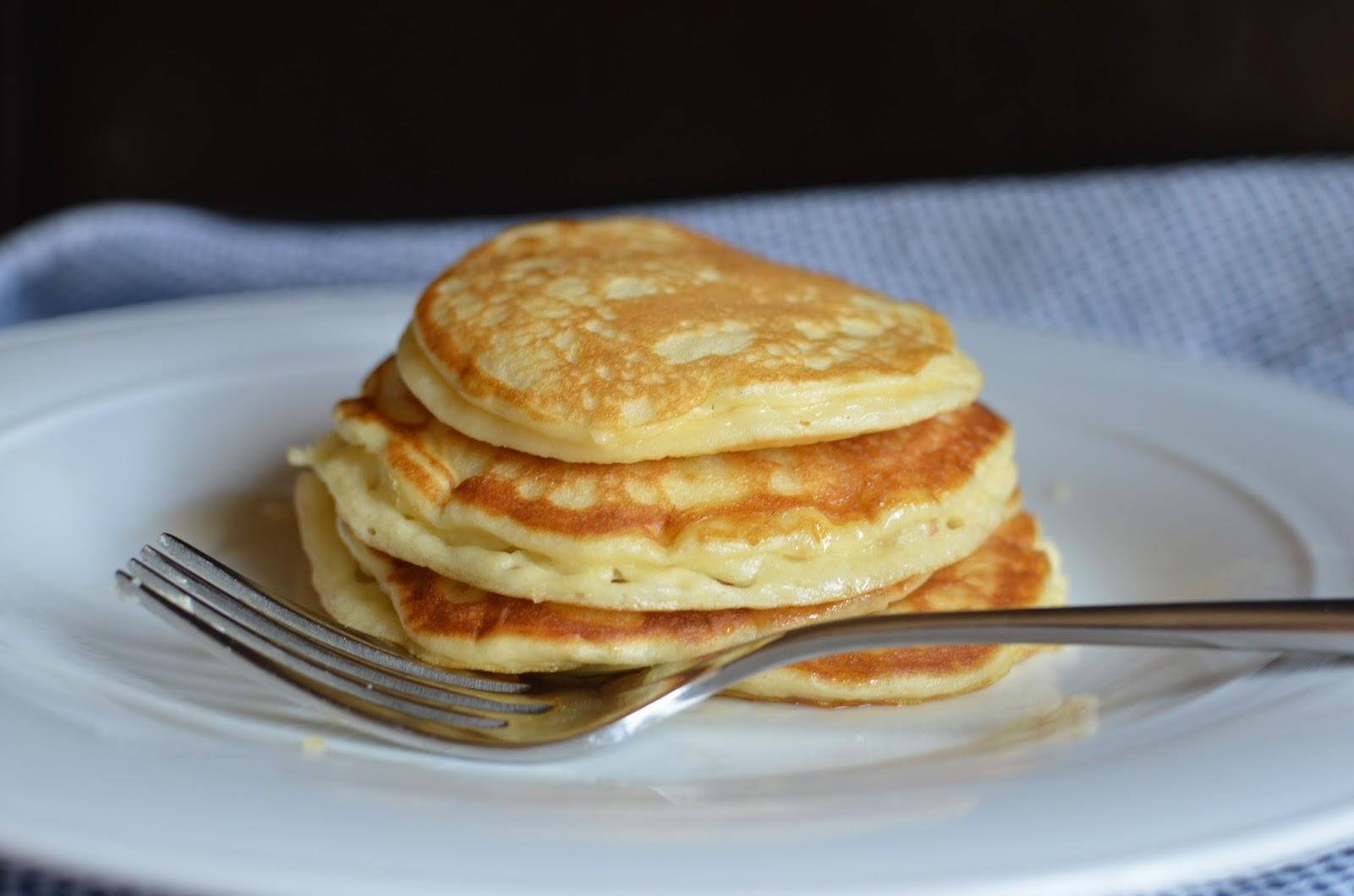 Edna Mae's Sour Cream Pancakes Recipe — Dishmaps