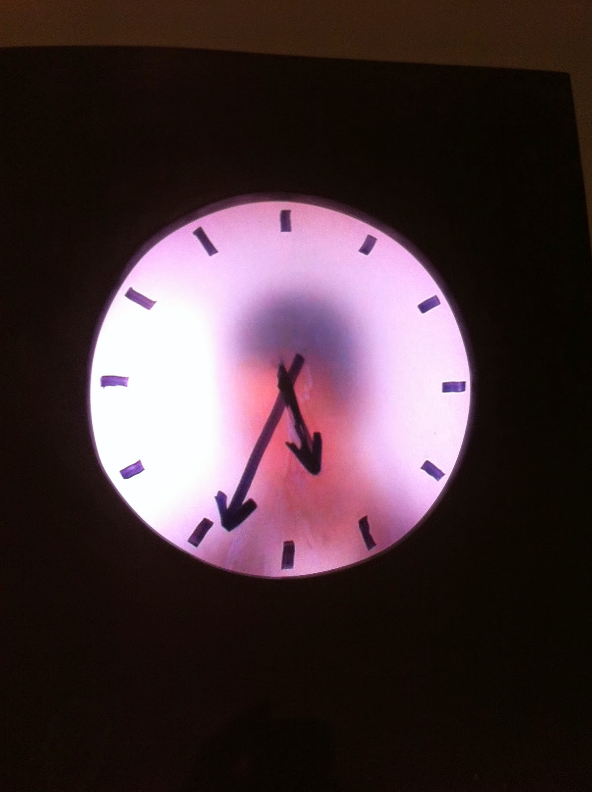 Horloge Grandfather clock, real time
