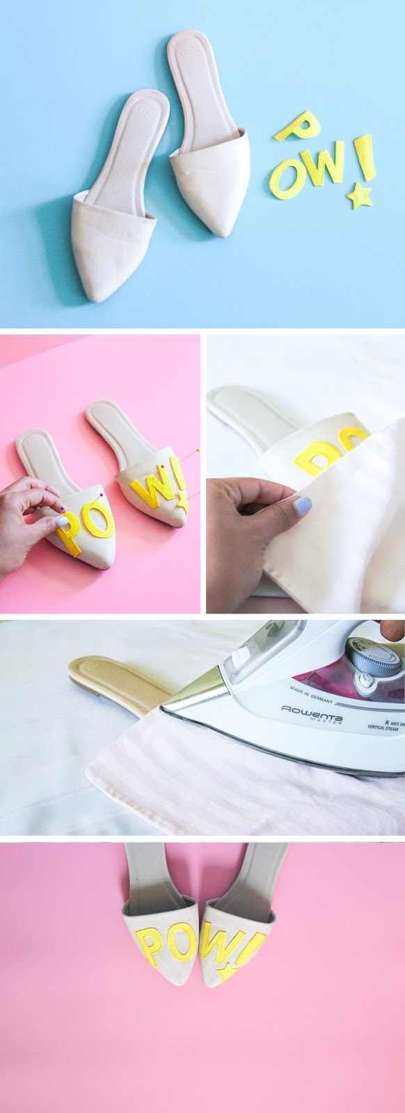 diy shoes accessories superhero