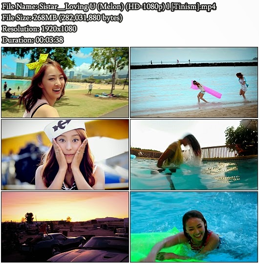 Download MV Sistar (씨스타) - Loving U (Melon Full HD 1080p)