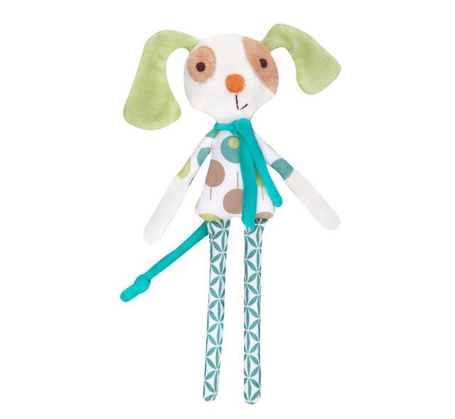 Ella & Otto | Danny the Dog Baby Rattle