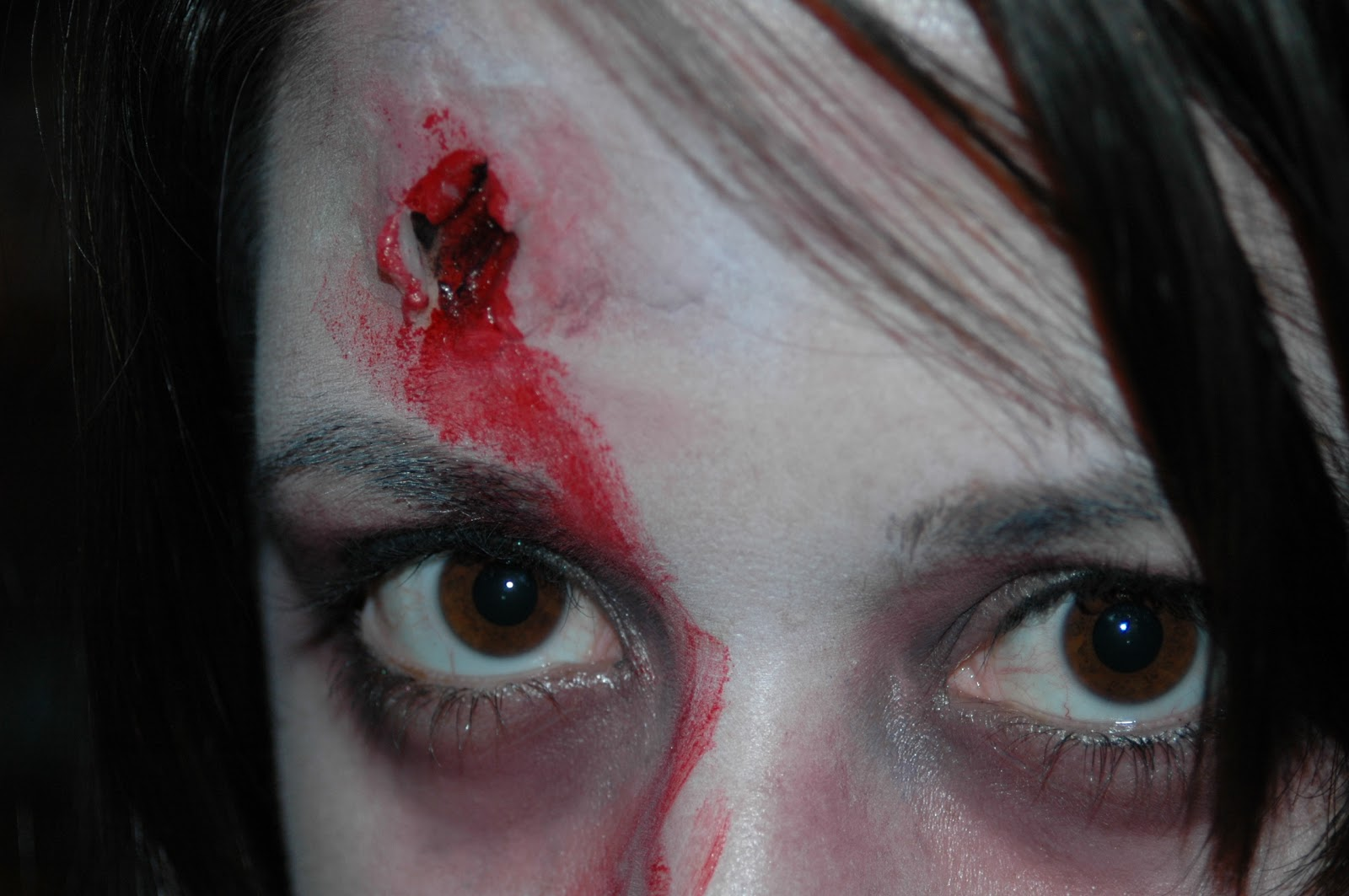 The Walking Dead Zombie Little Girl Makeup Tutorial | My ...