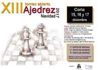 """XIII TORNEO DE AJEDREZ """"NAVIDAD 2017"""""""