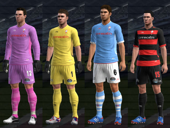 PES 2012 Celta de Vigo 12 13 Kit Set by TheSpecialOne