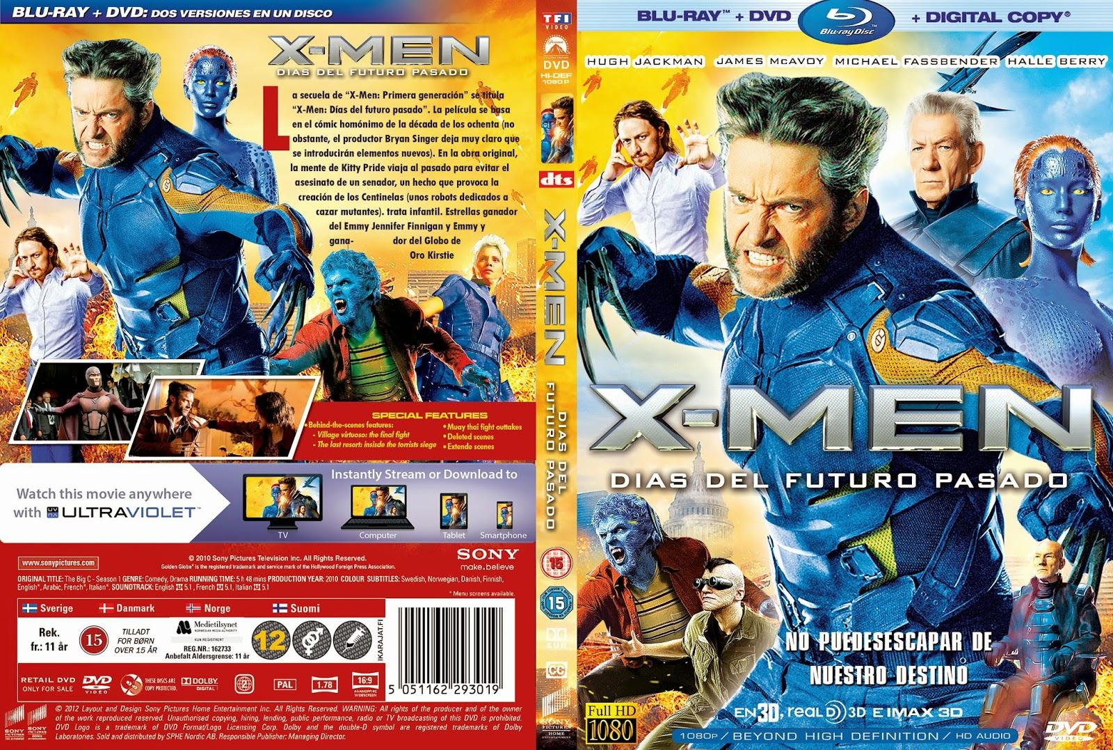 X-Men Dias Del Futuro Pasado DVD