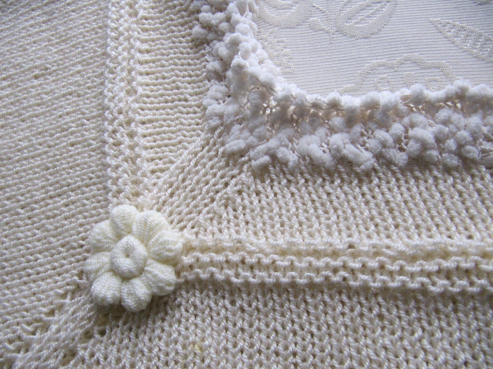 Esmeralda Manualidades: Tejido a palillo poncho