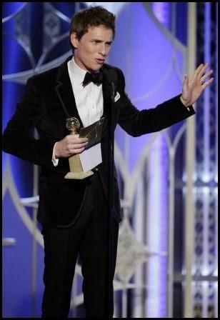Globos de Oro 2015: Eddie Redmayne - mejor actor (drama)