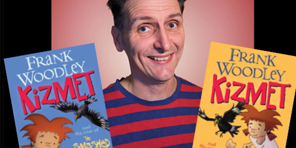 Frank Woodley Potts Point Bookshop Author Interview Frank Woodley comedian and