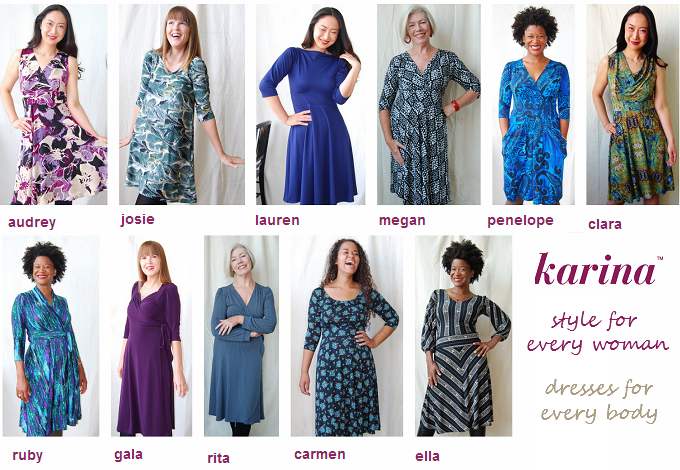 @KarinaDresses for Every-Body #Dresstacular