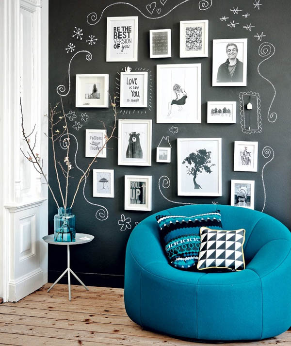 Amazing Chalkboard Wall murals Ideas