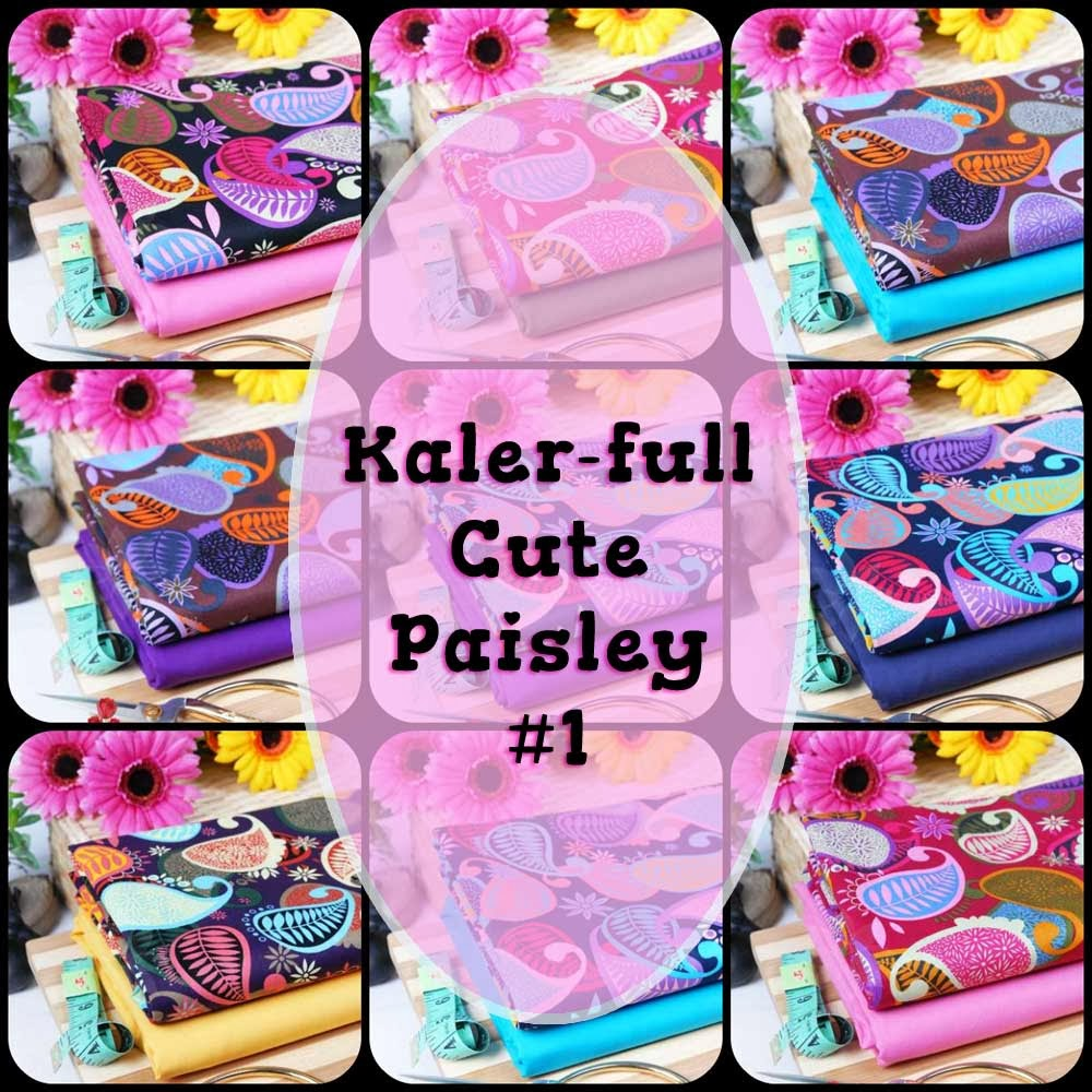Kaler full Cute Paisley 1 dan 2