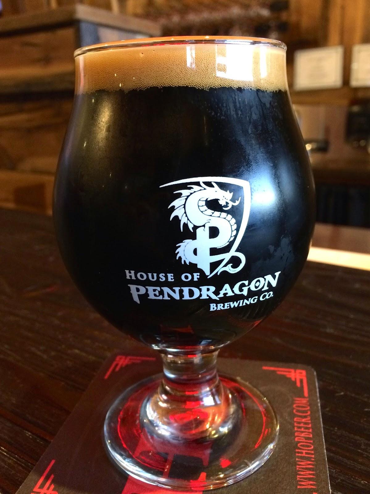 Pendragon Imperial Stout 1