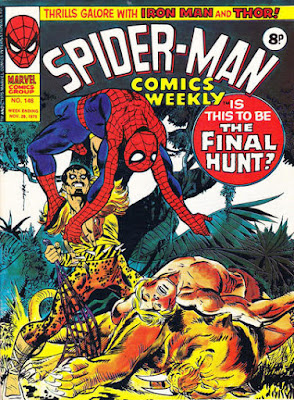 Spider-Man Comics Weekly #146, Kraven the Hunter