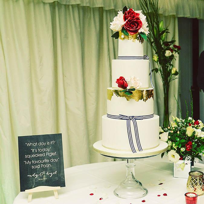 World of Joy: Wedding Wednesday #14 - The Cake by Amelie\'s Kitchen