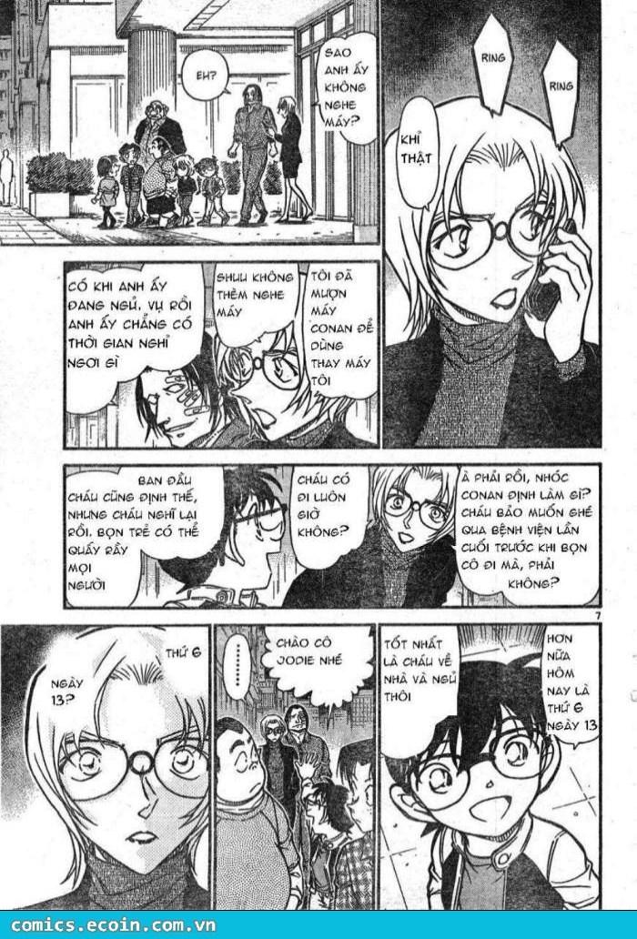 Detective Conan - Thám Tử Lừng Danh Conan chap 609 page 7 - IZTruyenTranh.com