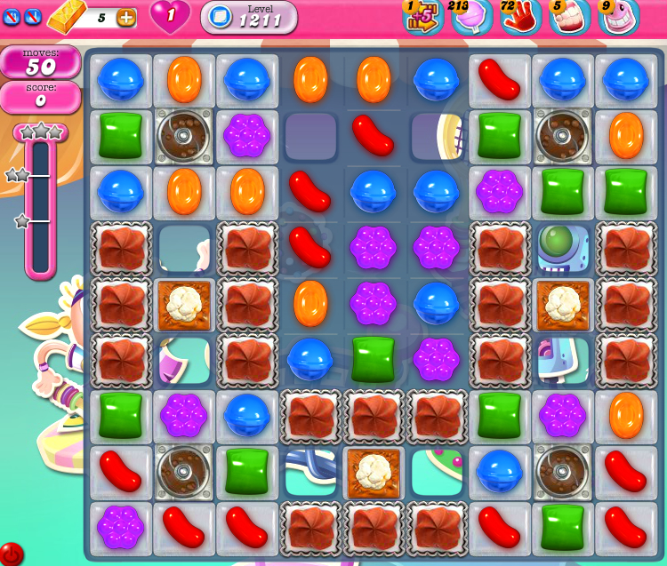 Candy Crush Saga 1211