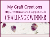 My Craft Creations Winner