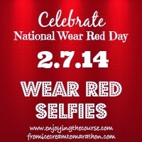 Wear Red Selfies