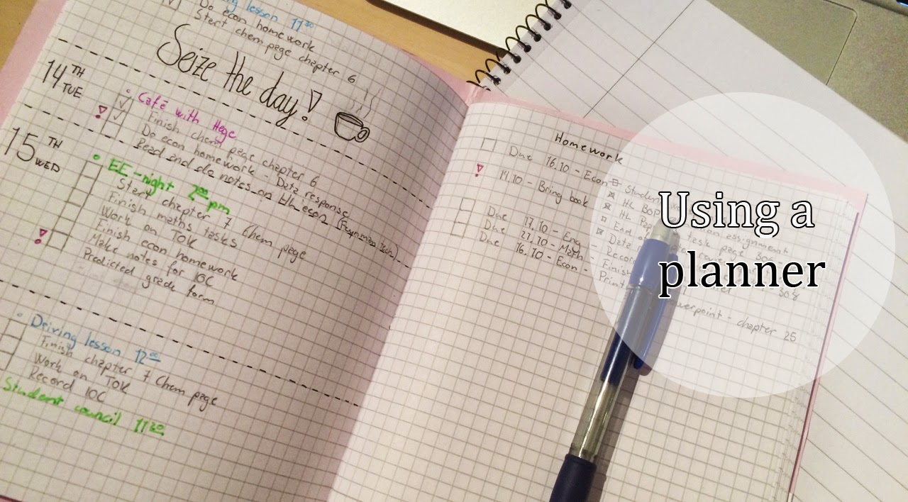Bad Planner a study tip a day keeps the bad grades away a planner