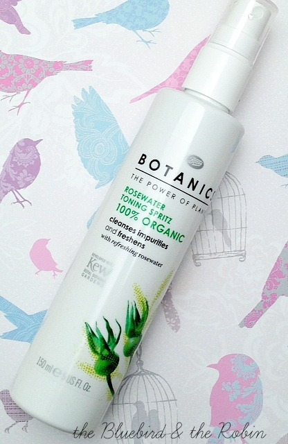 A picture of Boots Botanics Rosewater Toning Spritz