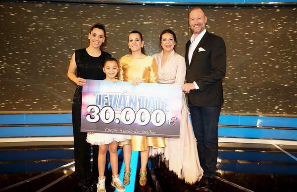 Vanesa y Johana ganadoras de Levántate-Gala final