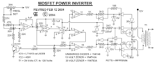 circuit-schematic-power inverter