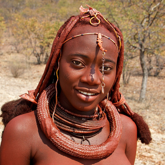 Opinion the Nude african girl himba tribe women