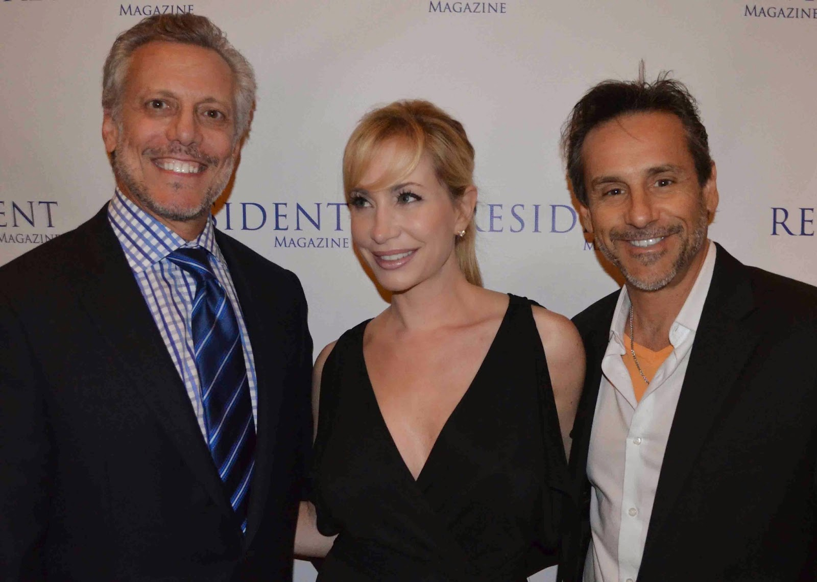 times square gossip resident magazine celebrates gossip table dr steven j pearlman donna graziano and larry r o