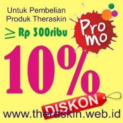 Sale Promo 10 % Pembelian Theraskin >300ribu