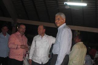Diputado Nelson Guillén realizó un gran fiestón con Peña Suazo y Quinito Méndez en  Campo Club de San Cristóbal