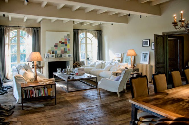 Toscana home interiors.