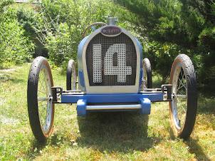 La Bugatti 35 construite pour mes enfants...
