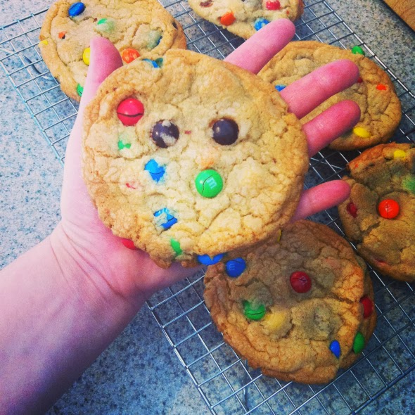 You can never go wrong with a GIANT cookie.