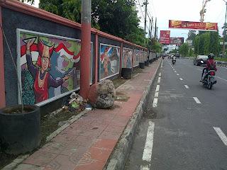 Mural Cinta Budaya Indonesia