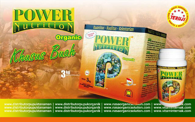 Pupuk Organik Khusus Buah Power Nutrition Nasa
