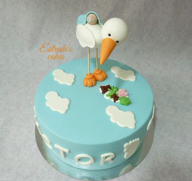 tarta para un bautizo 5